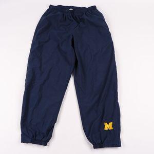 90s Nike Mens XL Michigan Team Issue Joggers Pants